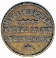 Nécessité - Jeton De Bal - Valentino Ou Renaissance - Non Localisé - Monétaires / De Nécessité