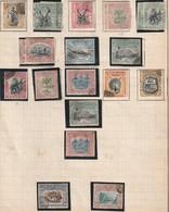 BORNEO Du NORD - N° 72/85 + N°110/1 Obl Annulé (1897-1901) Série Courante - Bornéo Du Nord (...-1963)
