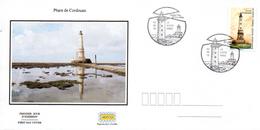 France  2019 FDC : Les Phares : Phare De Cordouan. Obliteration Du 1er Jour 02/08/2019 Paris. - 2010-....