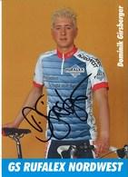 CYCLISME: CYCLISTE DOMINIK GIRSBERGER - Ciclismo