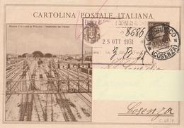 Cartolina Postale -  Opere Del Regime - C69/2 - Viaggiata - 1900-44 Victor Emmanuel III