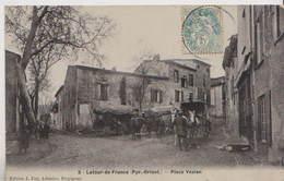 CPA LATOUR DE FRANCE FAU EMAIL N°5  PLACE VEZIAN - France