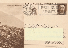 Cartolina Postale -  Propaganda Turistica - C 90/01 - Viaggiata - 1900-44 Vittorio Emanuele III