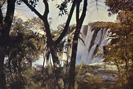 1 AK Simbabwe Zimbabwe * Victoria Falls - Eastern Cataract - Seit 1989 Weltnaturerbe Der UNESCO * - Simbabwe
