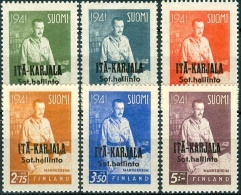 FINLAND 1942 Mannerheim Opdruk PF-MNH-NEUF - Finland