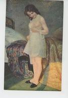 """NUS - FEMMES - TABLEAUX - SALON DE PARIS - """"Jeune (nu) """" - Par S. DAYNES GRASSOT SOLIN - Edit. LAPINA - Tableaux"""