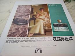 ANCIENNE PUBLICITE SA VOITURE SA FEMME  PARFUM  JACQUES FATH  1964 - Perfume & Beauty
