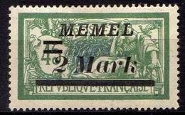 Memel (Klaipeda) 1922 Mi 88 * [260819VII] - Memelgebiet