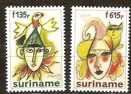 Suriname 1995 Yvertn° 1373-1374 *** MNH Cote 44 FF Le Carnaval - Suriname