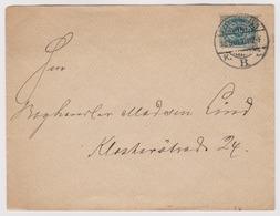 DANEMARK: Lettre De Kjobenhavn Pour Kjobenhavn   Du 18.03.1901 - 1864-04 (Christian IX)