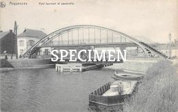 Pont Tournant Et Passerelle - Arquennes - Seneffe