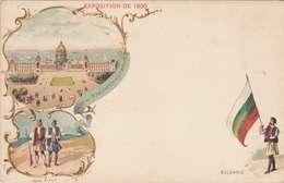*CPA :- EXPO UNIVERSELLE. 1900 -RECTO - LITHOGRAPHIE - DOS NEUTRE - 1900 – Paris (Frankreich)