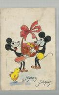 "-* MICKY MOUSE  *--""""JOYEUSES  PÂQUES """" - Disneyworld"
