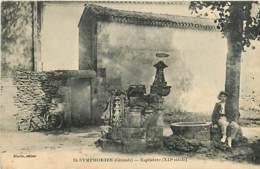 33* ST SYMPHORIEN Baptistere     MA92,0977 - France