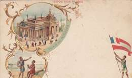 *CPA :- EXPO UNIVERSELLE. 1900 -TAÏTI -RECTO - LITHOGRAPHIE - DOS NEUTRE - 1900 – Pariis (France)