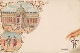 *CPA :- EXPO UNIVERSELLE. 1900 - ESPAGNE -RECTO - LITHOGRAPHIE - 1900 – Paris (France)