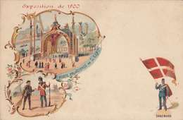 *CPA :- EXPO UNIVERSELLE. 1900 - DANEMARK -RECTO - LITHOGRAPHIE - 1900 – Paris (France)