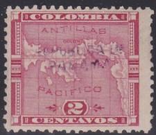 Panama, Scott #59, Mint Hinged, Map Overprinted, Issued 1903 - Panama