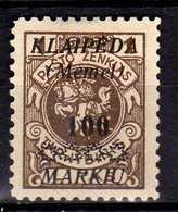 Memel / Klaipeda 1923 Mi 139 (*) [260819VII] - Memelgebiet
