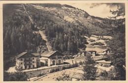 COGOLO DI VAL DI PEJO-TRENTO-LA CENTRALE ELETTRICA--CARTOLINA VERA FOTOGRAFIA VIAGGIATA IL 2-8-1954 - Trento