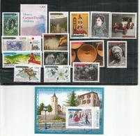 Année Complète 2017.  15 Timbres + 1 Bloc-Feuillet (Danses Du Baton) Neufs ** - Unused Stamps