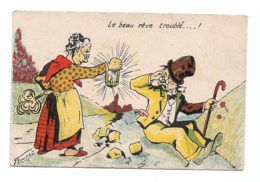 Le Beau Rêve Troublé  Signé  BOURET - Illustratori & Fotografie