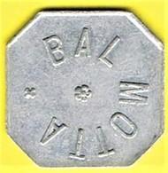 Nécessité - Jeton De Bal - Bal MOTTA - Non Localisé - Monétaires / De Nécessité