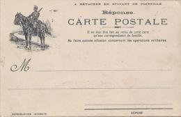 Carte Franchise Militaire  CAVALIER  P8 - Marcophilie (Lettres)