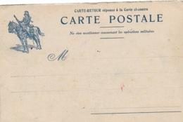 Carte Franchise Militaire  CAVALIER  P4 - Marcophilie (Lettres)