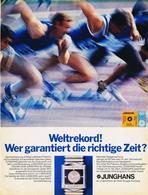 Original-Werbung/ Anzeige 1971 - GROSSFORMAT / JUNGHANS UHREN - Ca. 250 X 350 Mm - Werbung