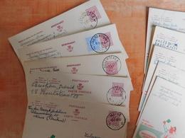 Lot 10 Entiers Postaux Publibels, National Loterij, Pour Cachets  (S8) - Ganzsachen