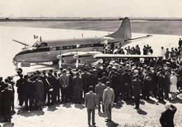 AEROPORTO-AEROPORT-AIRPORT-FLUGHAFEN-AERODROM-VENEZIA-ITALIA-PARTENZA REGINA ELISABETTA 7-5-1961 - Aerodromi