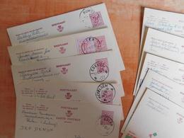 Lot 10 Entiers Postaux Publibels, National Loterij, Pour Cachets  (S8) - Publibels