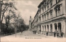 !  Alte Ansichtskarte Aus Halle An Der Saale, Königstrasse, Friedrich Kohl's Restaurant 1906 - Halle (Saale)