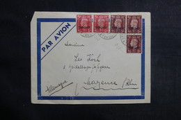 MAROC - Enveloppe Du Majestic - Hôtel  De Tanger Pour L 'Allemagne En 1938, Affranchissement Plaisant - L 41215 - Morocco Agencies / Tangier (...-1958)