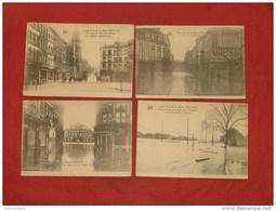 LIEGE  - Lot De  7 Cartes : Crues De La Meuse  (voir Détails)  - - Liege
