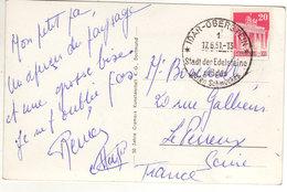 Idar-Oberstein 1951 - Stadt Des Edelsteine - !!! Timbre Abimé - Briefmarken Kaputt - Machine Stamps (ATM)