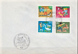 Germany Full Set On Cover With FD Cancel - Fairy Tales, Popular Stories & Legends
