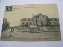 C.P.A.- Argenton Château (79) - Ecole Supérieure De Jeunes Filles - Avenue Camille Jouffrault - 1908 - SUP (CM 24) - Argenton Chateau