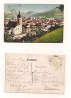 AK Waidhofen An Der Ybbs Pfarrkirche - 19 ? - Echt Gelaufen - BM Wurde Entfernt - Waidhofen An Der Ybbs