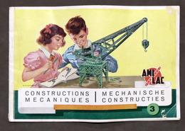 Giocattoli Costruzioni - Brochure Ami Lac Constructions Mecaniques 3 - 1960 Ca. - Meccano