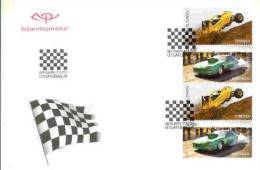 Iceland , Drag Racing, Offroad, FDC 2011 - Automobile