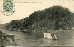 CPA - LEVALLOIS-PERRET - BORDS DE SEINE - Levallois Perret