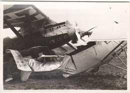 Accident Du Nieuport En Du Hanriot - Tunisie, Sidi Ahmed Le 17 Mars 1938 - Aviation