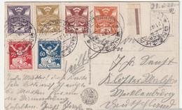 CP De TCHECOSLOVAQUIE - Snezka Le 21/07/1921 - Tchécoslovaquie