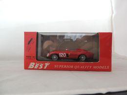 FERRARI 750 MONZA NR. 120 TARGA FLORIO 1955 BEST 9047 NUOVA IN BOX (1051) - Best Model