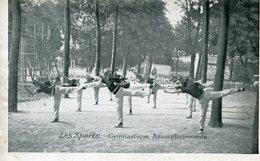 GYMNASTIQUE(PUBLICITE CHICOREE A LA BERGERE  HAUBOURDIN) - Gimnasia