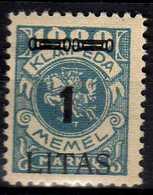 Memel (Klaipeda) 1923 Mi 192 * [260819VII] - Memelgebiet
