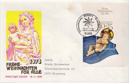 Germany Used FDC - Christmas