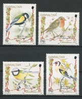 GIBRALTAR 1994 N° 711/714 ** Neufs MNH Superbes C 8 € Noël Christmas Faune Oiseaux Carduelis Parus Major Birds Animaux - Gibraltar